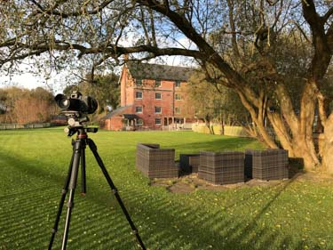Canon 6D on location in Dorset on an architectrual photography shoot