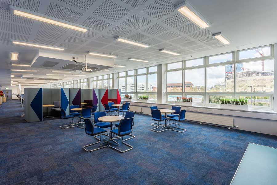 Fresh new office space at the national Oceanography Centre in So