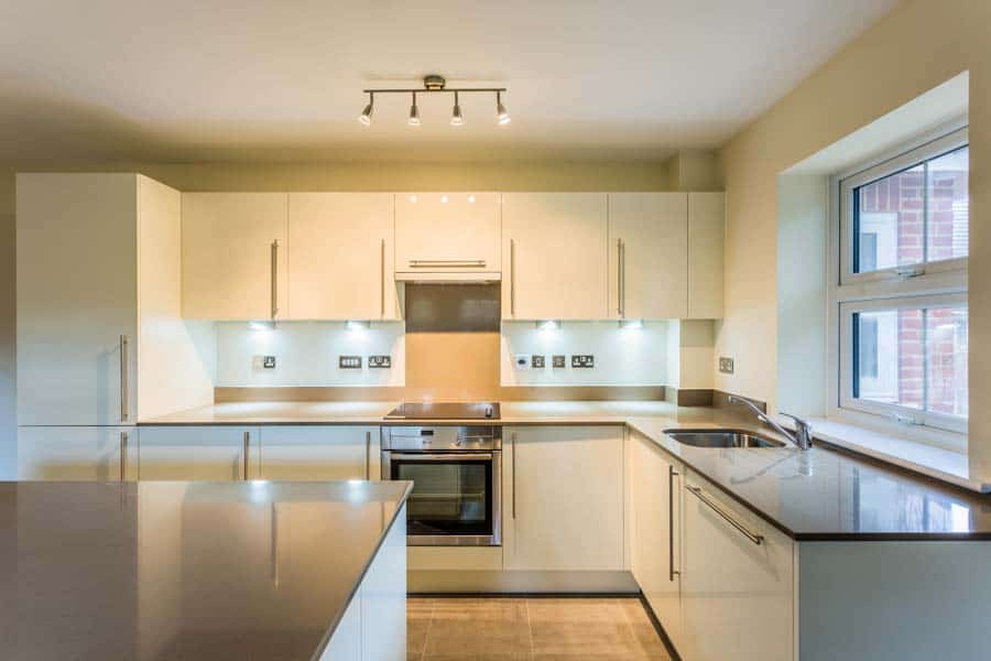 New kitchen in a house in Southampton