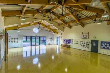 School hall extension at St Anthony's School
