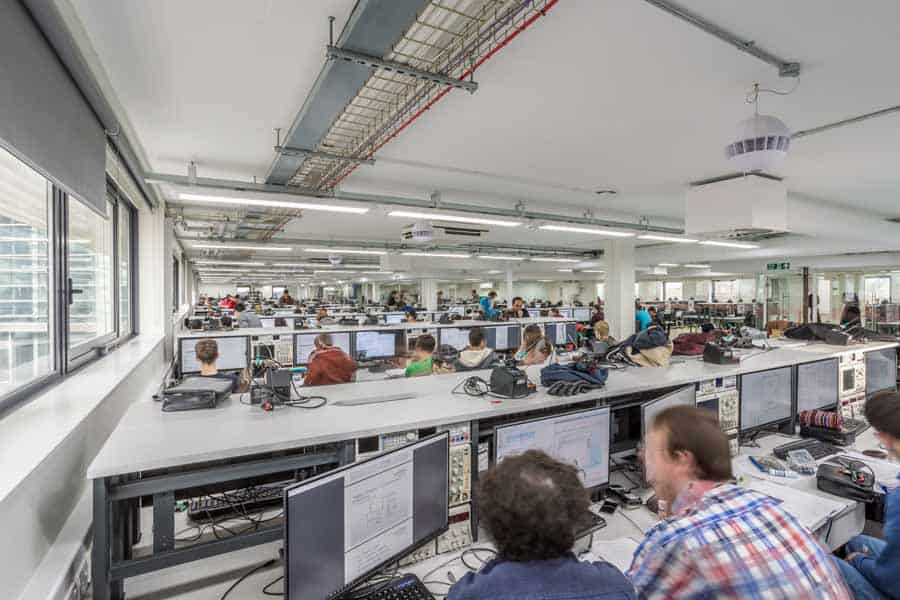 New PC labs at the University of Southampton