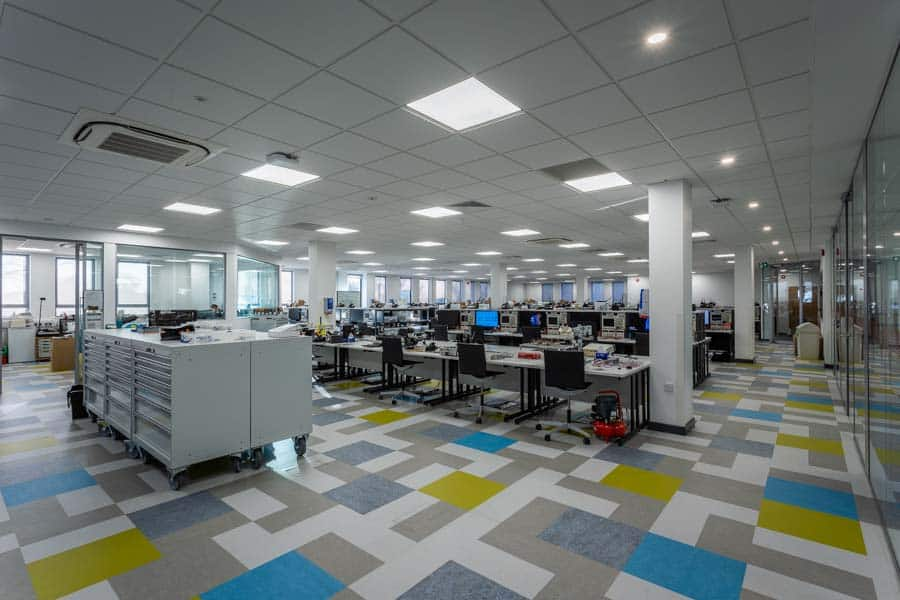 New learning space at hte University of Southampton in Building