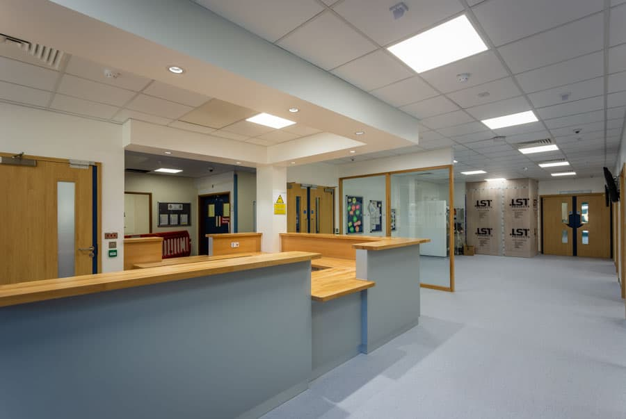 Royal Hampshire County Hospital Emergency Department Reception r