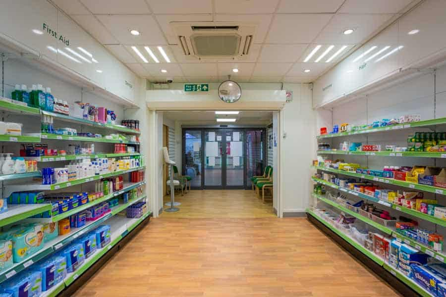 Outpatients Pharmacy at the University Hospital Southampton