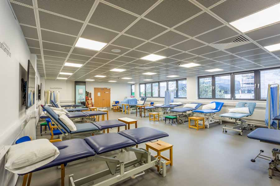 New medical teaching space at the University of Southampton B67