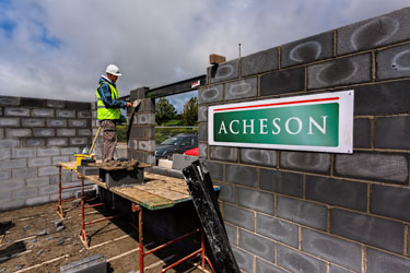 Acheson Construction working in Corfe Castle in Dorset