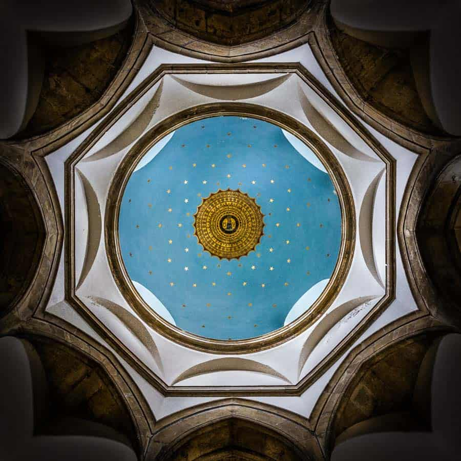 Chideock Church Dome by Rick McEvoy Architectural Photographer in Dorset