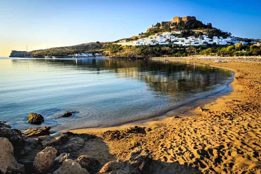 The stunning Acropolis of Rhodes