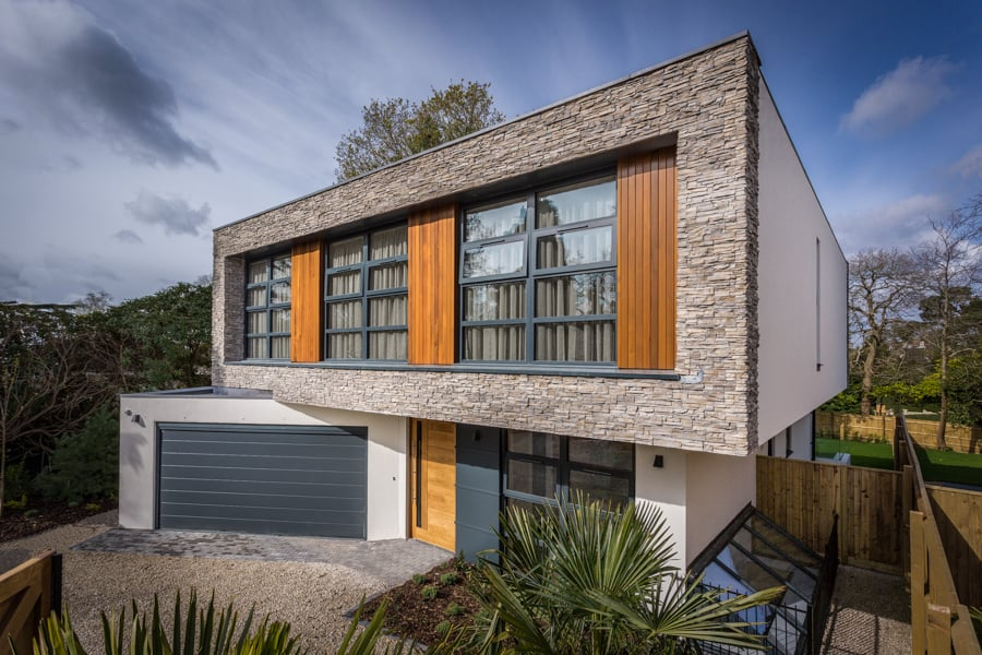 New house in Poole Dorset photographed Rick McEvoy Photography