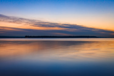 Sunset over Brownsea Island by Rick McEvoy landscape photographe