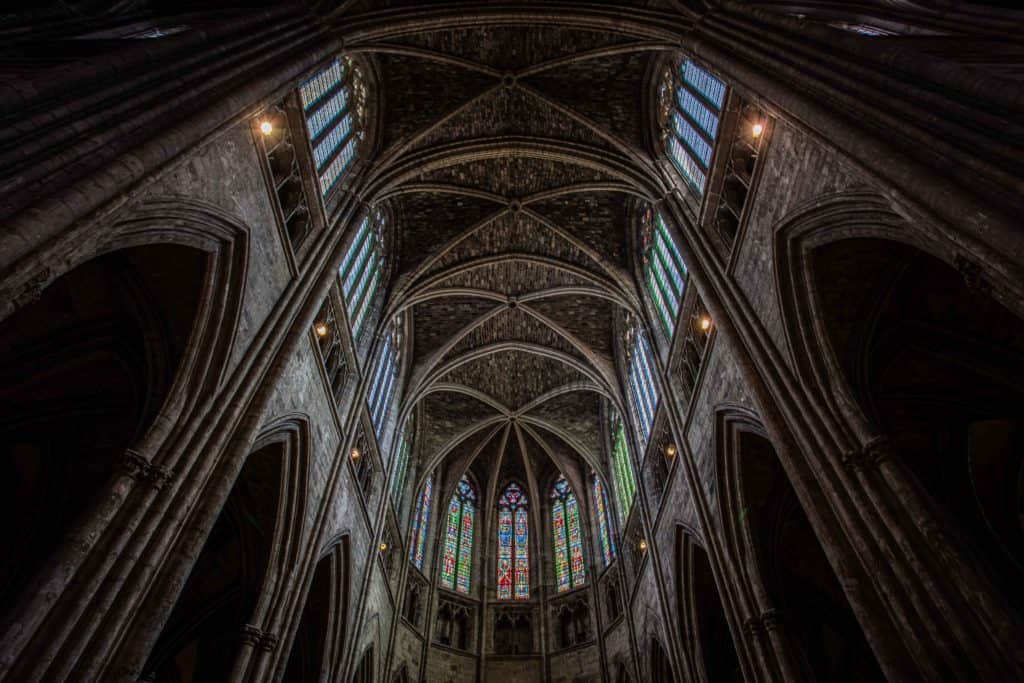Bordeaux Cathedral by Rick McEvoy - the new edit